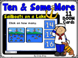 Ten & Some More ~ Sailboats on a Lake  ~ BOOM Cards ~ Dist