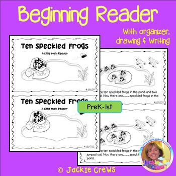 Ten Speckled Frogs: A Little Math Reader (Counting Backwards)
