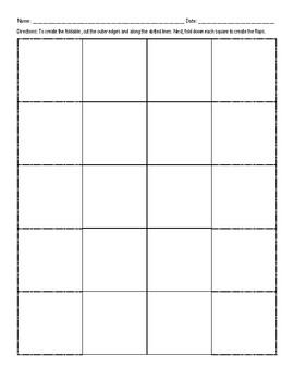 Ten Square Foldable