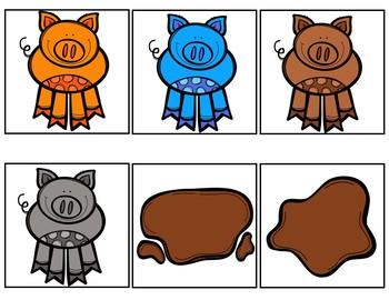 Ten Squeaky Clean Pigs (Pocket Chart Activity)