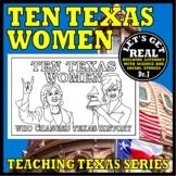 TEN TEXAS WOMEN (20th Century Trailblazers)