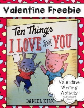 Ten Things I Love About You  {A Valentine Love List}