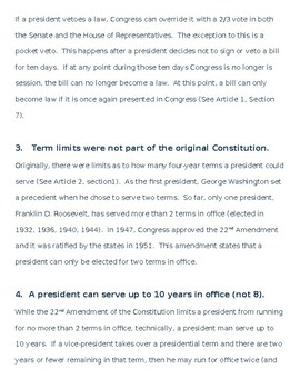Facts about the U.S Constitution:  Ten Things You May Not Know