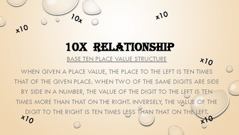 Ten Times Relationship - PPT Lesson