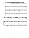 Ten Times Relationship: Sheet Music