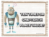 Ten Times or One-Tenth the Place Value QR
