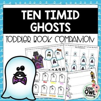 Ten Timid Ghosts Toddler Curriculum