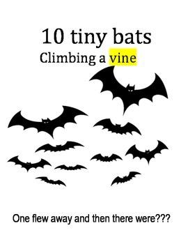 Ten Tiny Bats- a counting book