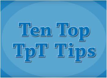 Ten Top TpT Tips Video (WMV)