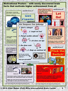 Top Tricks of Best Brains - Motivational Prompts from Brain Facts