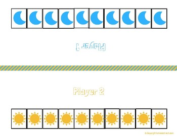 Ten Total (Math Center or Game)