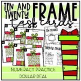 Ten & Twenty Frame Gift Task Cards