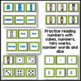 Ten & Twenty Frames: Numbers, Number Words, Dice, Tally Marks, & Cubes