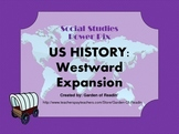 Ten US History Westward Expansion Vocabulary Posters Power Pix