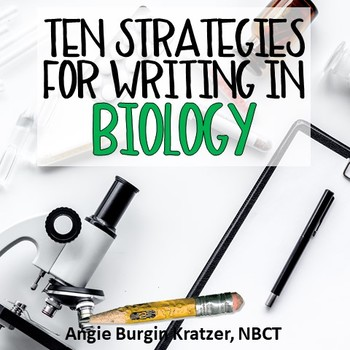 How to Teach BIOLOGY Through Writing {10 Strategies}