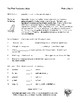 Ten Week Vocabulary Study - Volume Two, Homework Worksheets