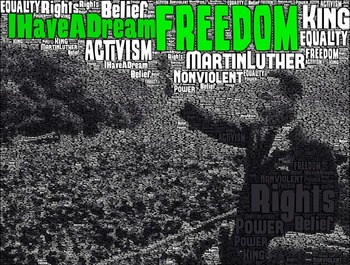 Ten Word Posters - The Civil Rights Movement