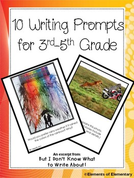 Third Grade Writing Activities