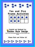 Ten and Five-Frame Activities