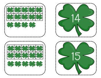 Ten and Some More Shamrocks
