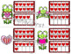 Ten and Some More ~ Ten Frames ~ Valentine Frogs