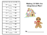Ten and Twenty Frames with the Gingerbread Man