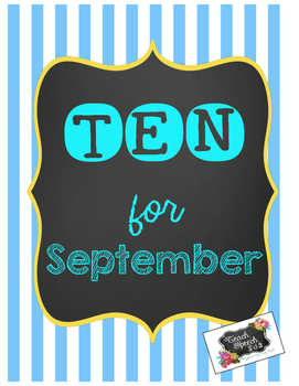 Ten for September