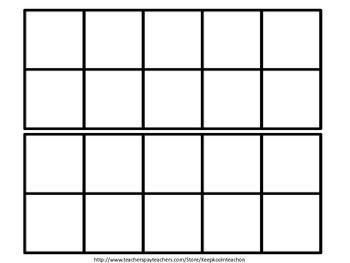 Ten frame addition  Center