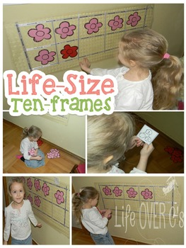 Ten-frame and Number Bond Life-Size Activity