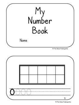 Ten-frame to 10 mini book