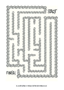 Ten free sports inspired mazes, different levels of difficulty