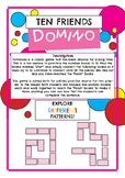 Ten friends Dominoes