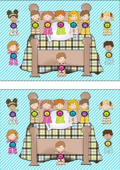 Ten in the Bed - Board game for Japanese