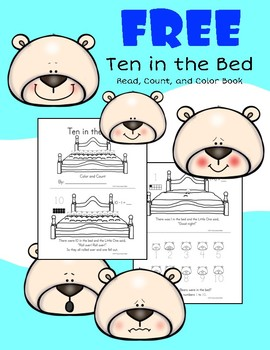 Ten in the Bed Color and Count Reader
