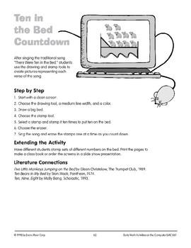 Ten in the Bed Countdown