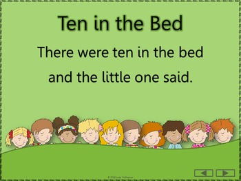 Ten in the Bed: Orff, Rhythm, Composition and Instruments