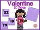 Ten more and Ten less 1.NBT.C.5 - Valentine Theme