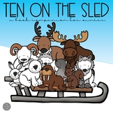 Ten on the Sled Book Companion