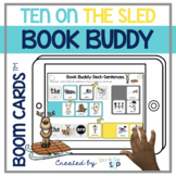 Ten on the Sled Book Companion | Boom Cards™️ Deck | Teletherapy