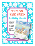 Ten on the Sled Printable Activities