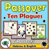 Ten plagues of Egypt posters Passover