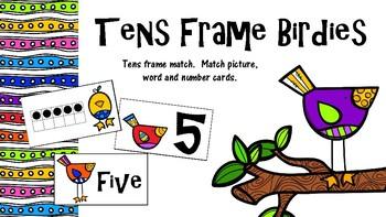 Ten's Frame Match