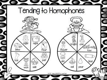 Tending to Homophones:  NO PREP Garden Themed Spin Game