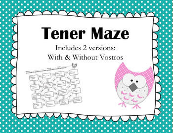 Tener Conjugation Maze