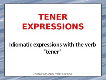 Tener Expressions