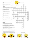 Tener Expressions: Crossword puzzle