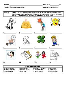Tener Expressions Quiz