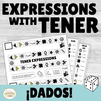Tener Expressions Review Game Los Dados