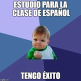 Spanish Tener Expressions with Memes!