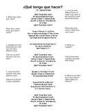 """Tener Idioms: Activity using Daddy Yankee's """"Que tengo que hacer"""""""